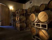 """Bob Dunning believes in traditional winemaking process – using small lot fermentation, gentle hand punching of the """"must"""" and barrel fermentation of both red and white wines."""