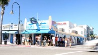 Customers line up around the block to try Splash Cafe's legendary clam chowder.