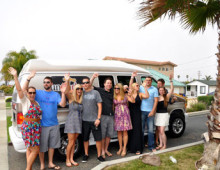Happy Uncorked Wine Tour customers